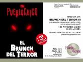 ¡Ya Llega , ya llega el Brunch del Terror 3ª edición!